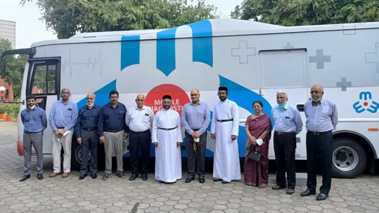 THE MADRAS MEDICAL MISSION PARTNERING WITH JOHNSON LIFTS LAUNCHED A MOBILE DIAGNOSTIC CLINIC (MDC) FOR RURAL HEALTH CAMPS