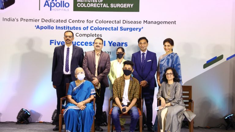 28-year-old Doctor undergoes Robotic Surgery for Colorectal Cancer at Apollo Hospitals, goes on to win Gold Medal