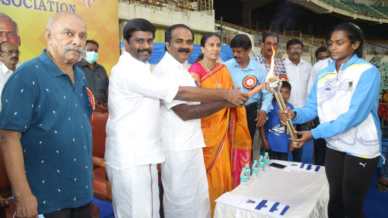 93rd Tamilnadu State Senior Athletic championships – 2021 inaugurated by Minister Thiru.SIVA M. MEYYANATHAN at Jawaharlal Nehru Stadium to be held from 15th to 17th October 2021.