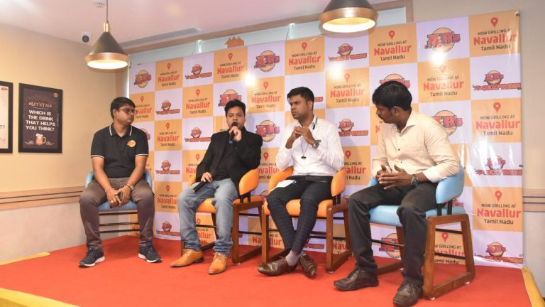 Absolute Barbecues opens its first 'Wish Grill' restaurant in Vivara Mall, Navallur, OMR.