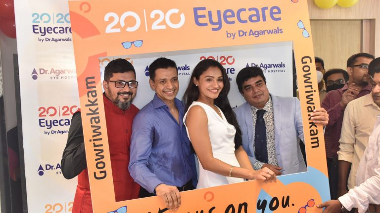 Dr Agarwal's Eye Hospital inaugurated its first primary eye care centre in Chennai – 20 | 20 Eyecare by Dr Agarwal's