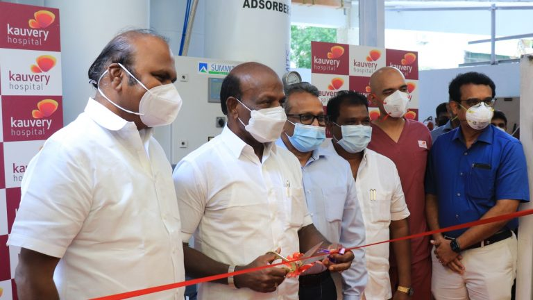 KAUVERY HOSPITAL CHENNAI DECLARES COMPLETE SELF-RELIANCE FOR ALL OXYGEN REQUIREMENTS
