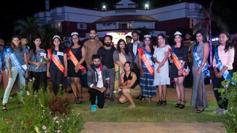 The Mr and Miss Photogenic 2021 beauty pageant was held at the Blue Angel Resort on ECR Road next to Chennai.